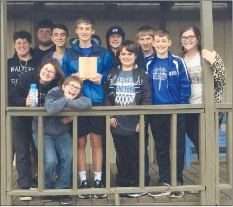 Walters Junior High Academic Team Wins Middle Level District Tournament
