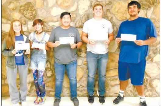 Walters High School Students of the month