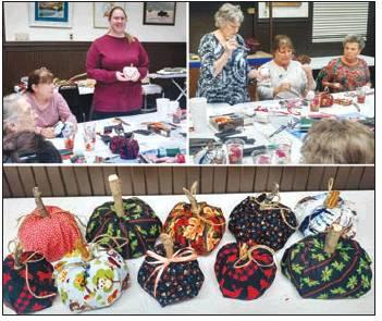 Cotton County Art Council Holds November Meeting
