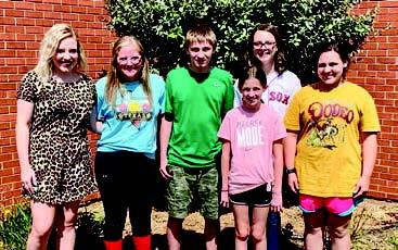Walters 4-H Club Officers