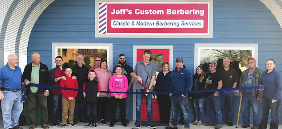 Walters Chamber of Commerce Welcomes Jeff's Custom Barbering