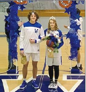 Past Basketball Homecoming and Present Basketball Homecoming - What A Blessing