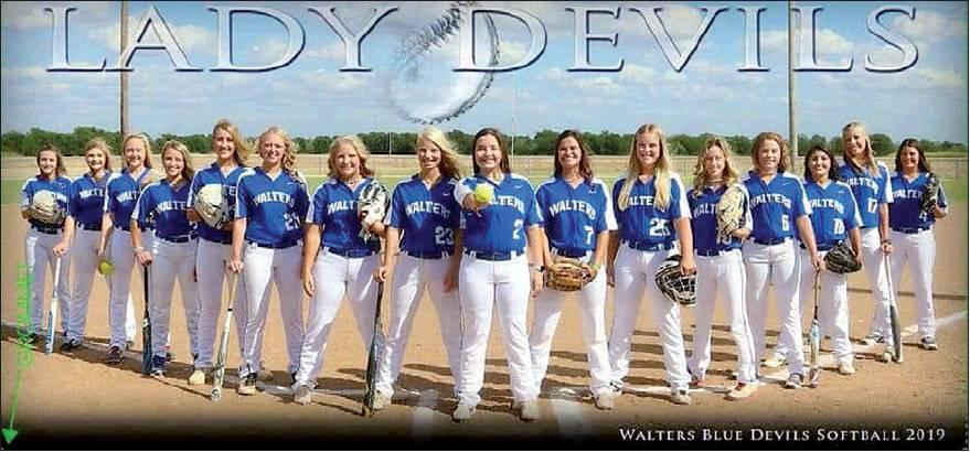 Walters High School Lady Blue Devil Softball Team