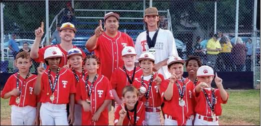 Dayson Lipscomb, Melody Holden, Zayden Burrow, Madix Laguna, Kayleigh Brown, Mason Spence, Jagger Brown, Ace Abbe, Tyrone Holden III, Brevan Brown. Coaches: Nick Burrow, Gilbert Laguna, Marco Laguna. (Not pictured: Shawn Collier and Coach Matao Laguna)