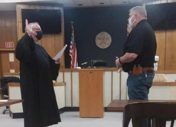 New County Officers Were Sworn Into Office January 4, 2020