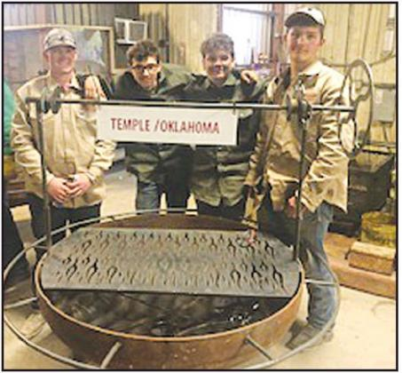 Four Temple FFA Students Bring Home Lots of Prizes